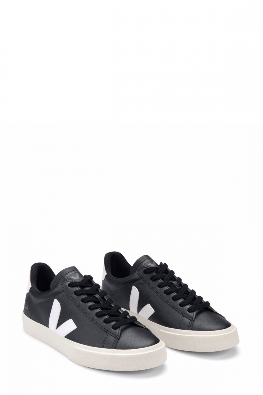 Veja Herren Sneaker Campo Chromefree Black 2