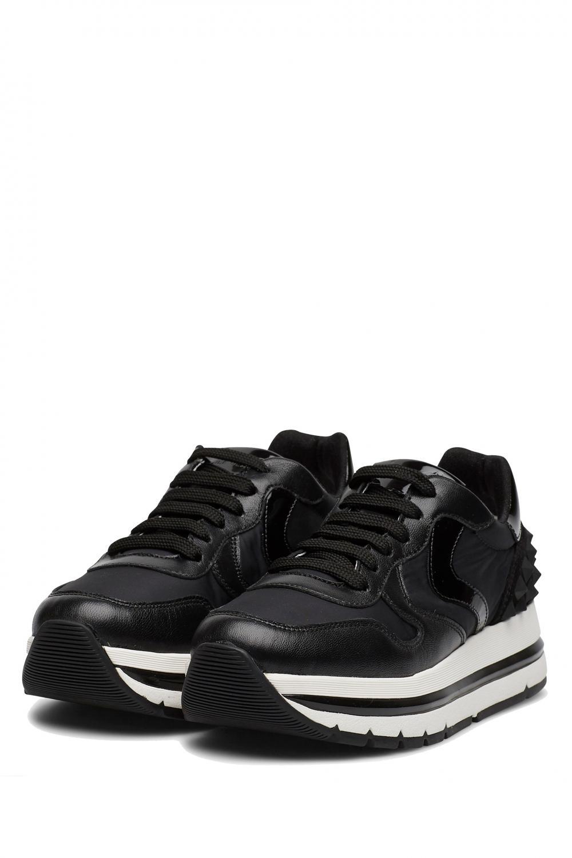 Voile Blanche Damen Sneaker Maran Schwarz 2
