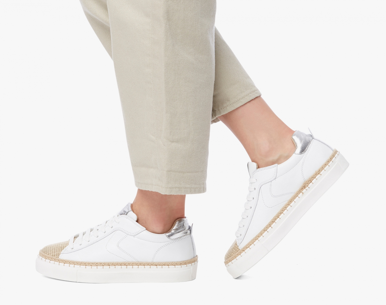 Voile Blanche Damen Sneaker Panarea Weiss 2