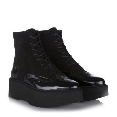 fb7d8eca325e75 Damen Ankle Boots H355 Fondo Urban Schwarz
