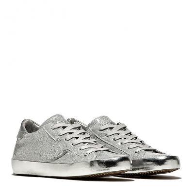 205efd556e0c Damen Sneaker Paris Lamine Glitter Argent. verfügbare Grössen. 38. 39. Philippe  Model