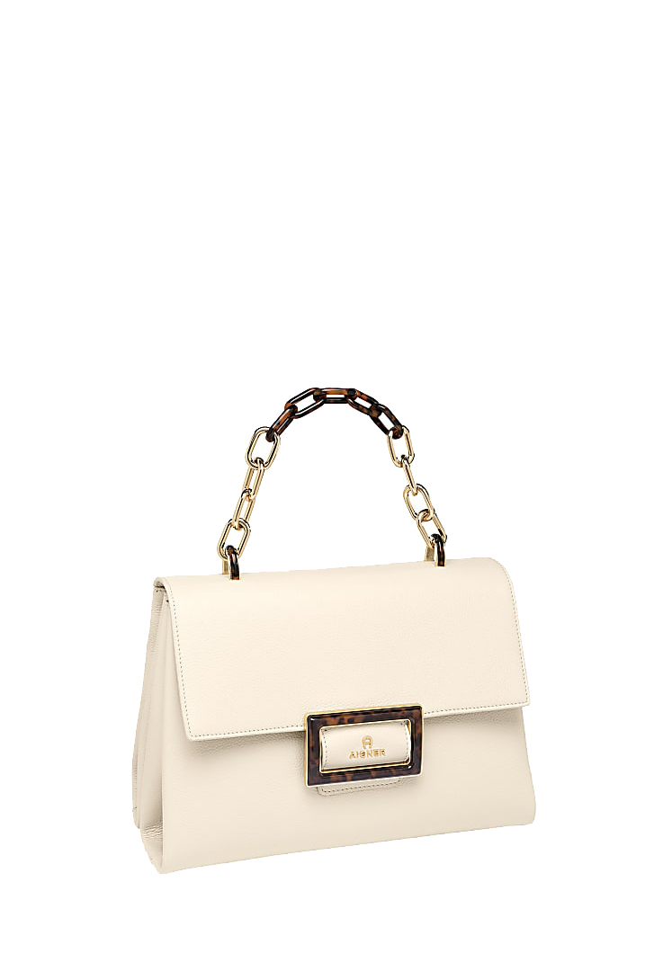 Aigner Damen Handtasche Vicenza M Antique White 3