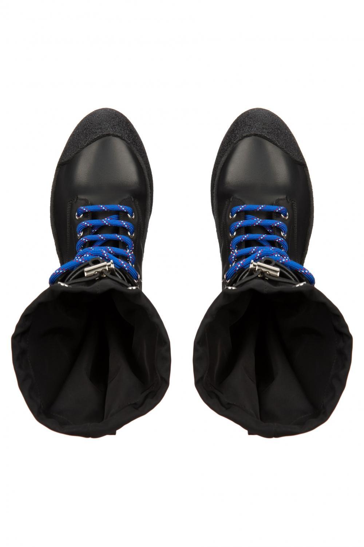 Bally Damen Lederstiefel Candace Schwarz 3
