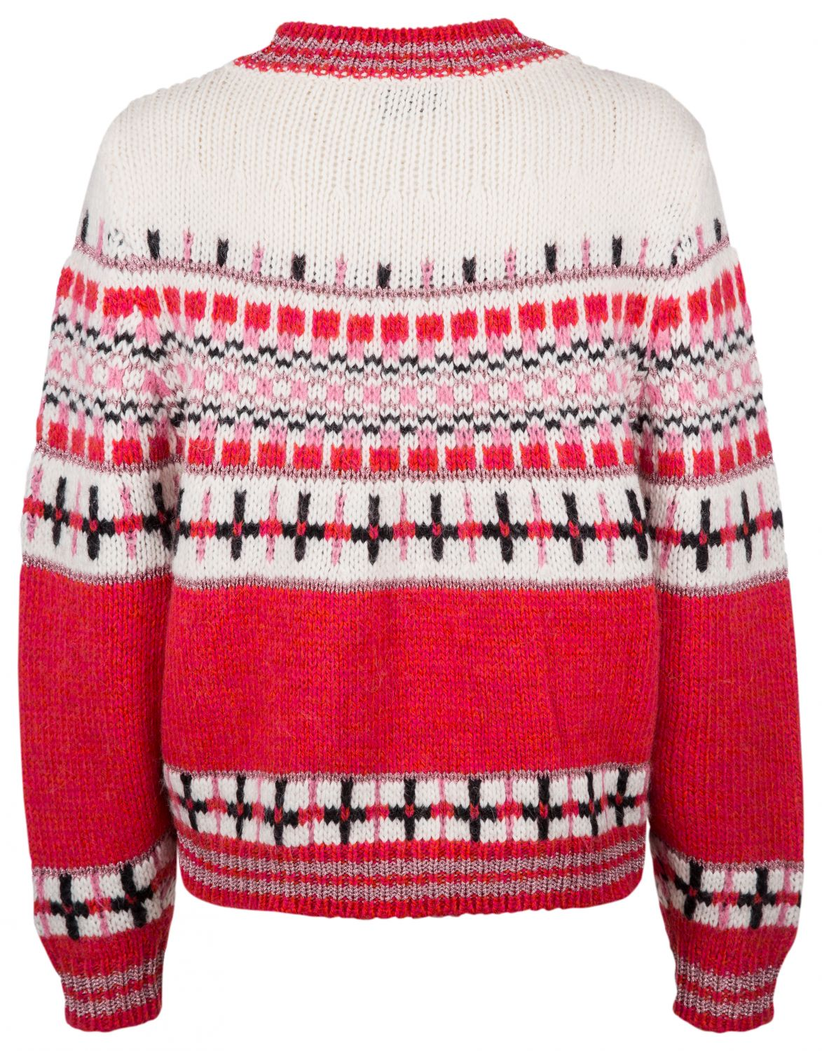"Essentiel Antwerp Damen Strickpullover ""Rochers"" Rot 3"