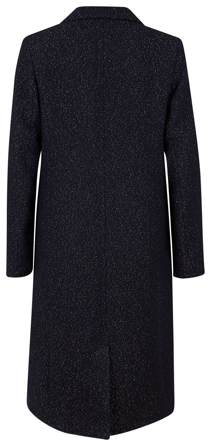 "Essentiel Antwerp Damen Wollmantel ""Ramanas"" Navy 3"