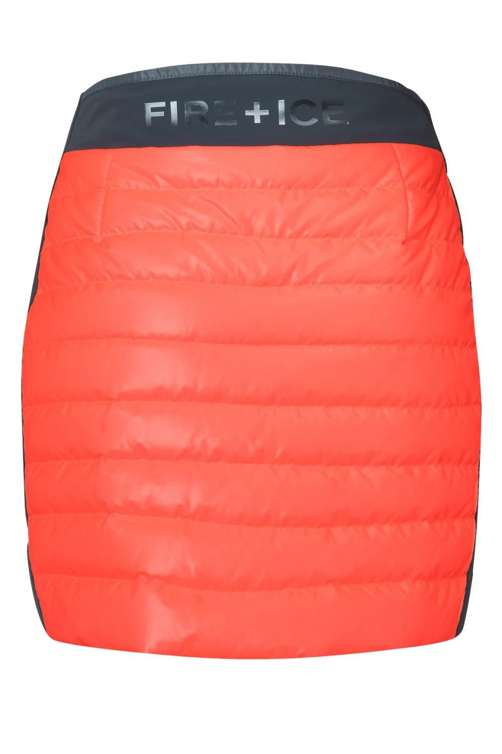 Fire & Ice Damen Daunenrock Cloe-D Orange 3