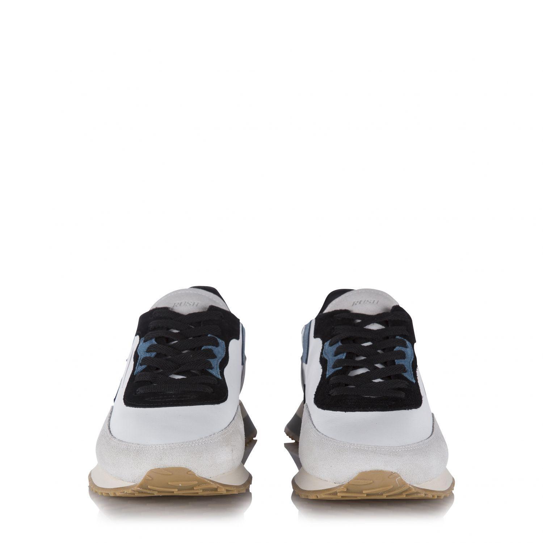 "Ghoud Herren Ledersneaker ""Rush"" Weiss 3"
