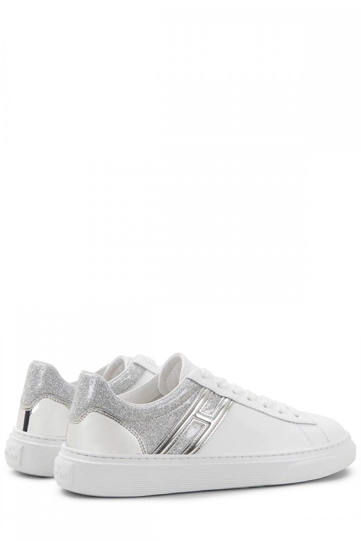 Hogan Damen Ledersneaker H365 Weiss 3