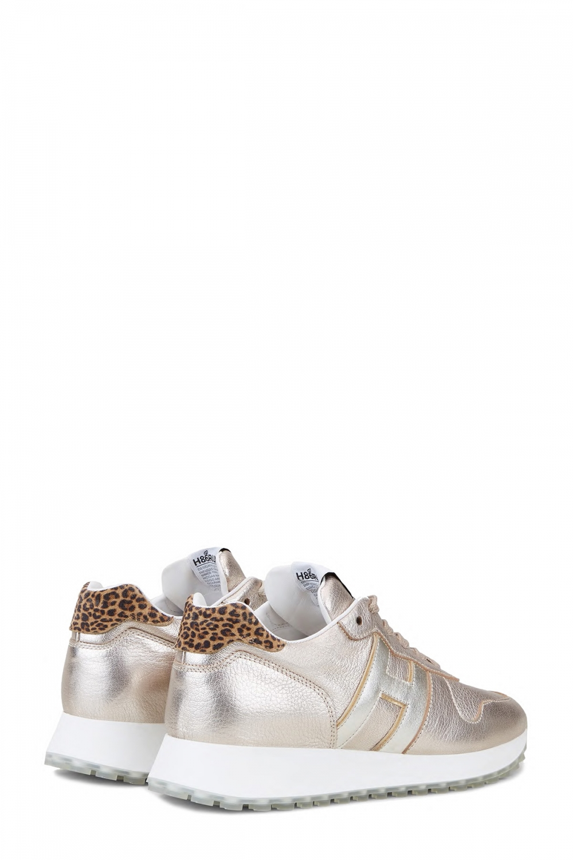 Hogan Damen Sneaker H429 Silber/Gold 3