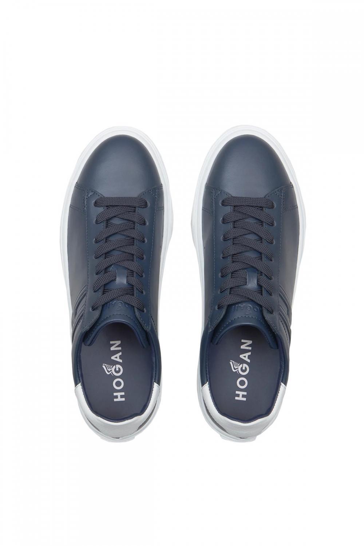 Hogan Herren Sneaker H365 Blau 3