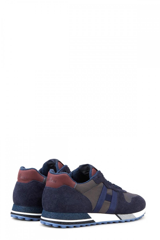 Hogan Herren Sneaker H482 Marineblau 3