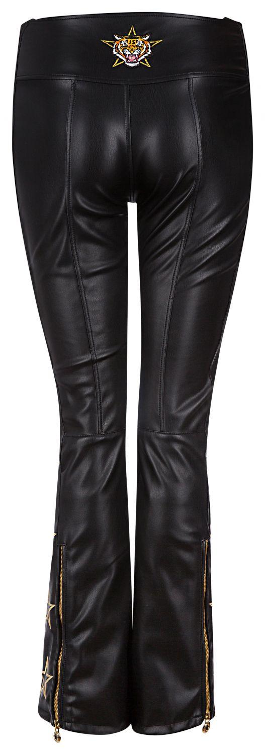 Jet Set Damen Skihose Tiby Tiger Leather Schwarz 3