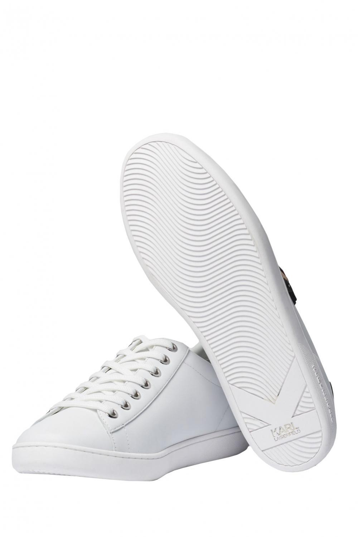 Karl Lagerfeld Damen Sneaker Kupsole II Weiss 3