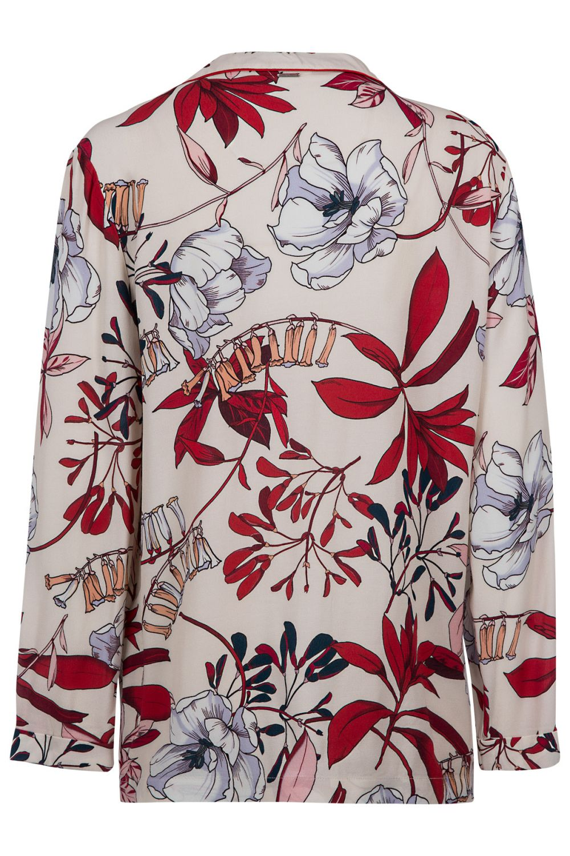 taglia 40 08739 e68ba Le Coeur - Twin Set Damen Bluse mit Reverskragen Esotica   SAILERstyle