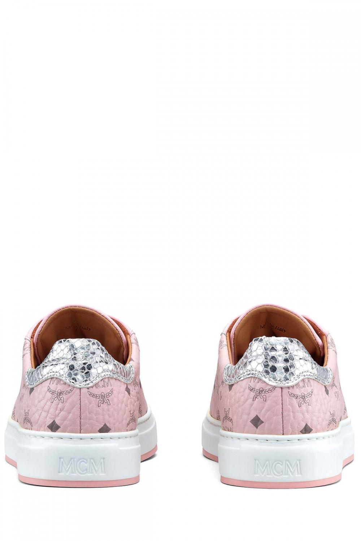 MCM Damen Sneaker Rosa 3