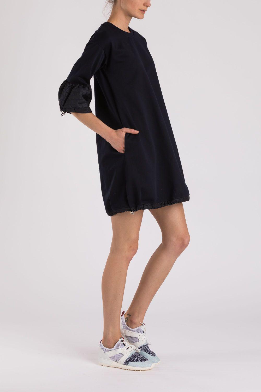 Moncler Damen Jerseykleid Navy 3
