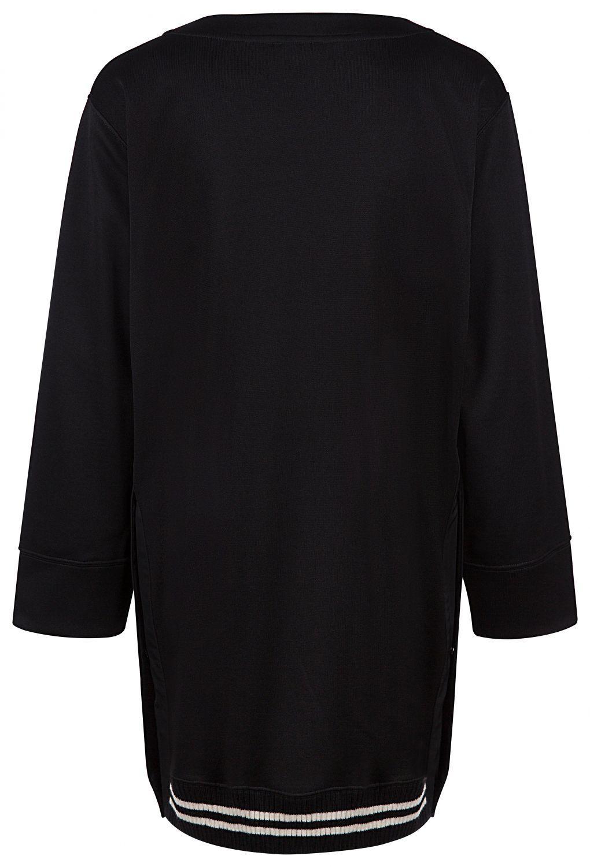 Moncler Damen Jerseykleid Schwarz 3