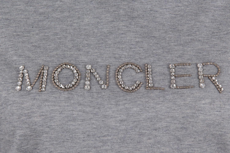 Moncler Damen T-Shirt Hellgrau 3