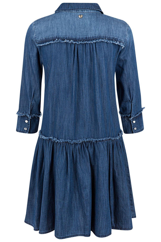 My Twin Damen Jeanskleid Denim Blau 3
