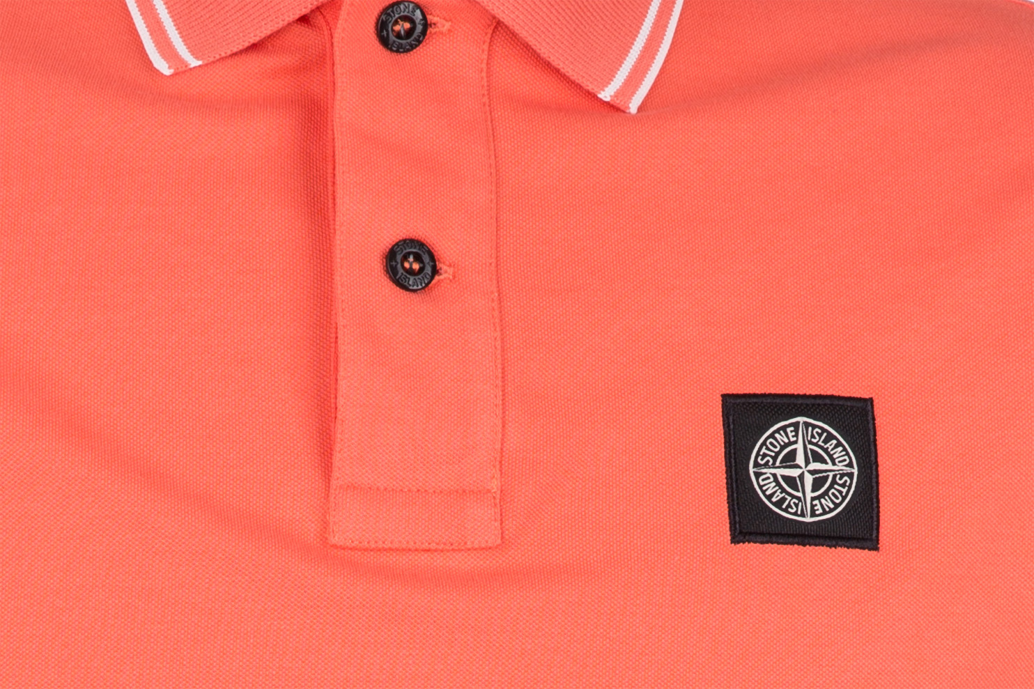 Stone Island Herren Poloshirt Orange | SAILERstyle