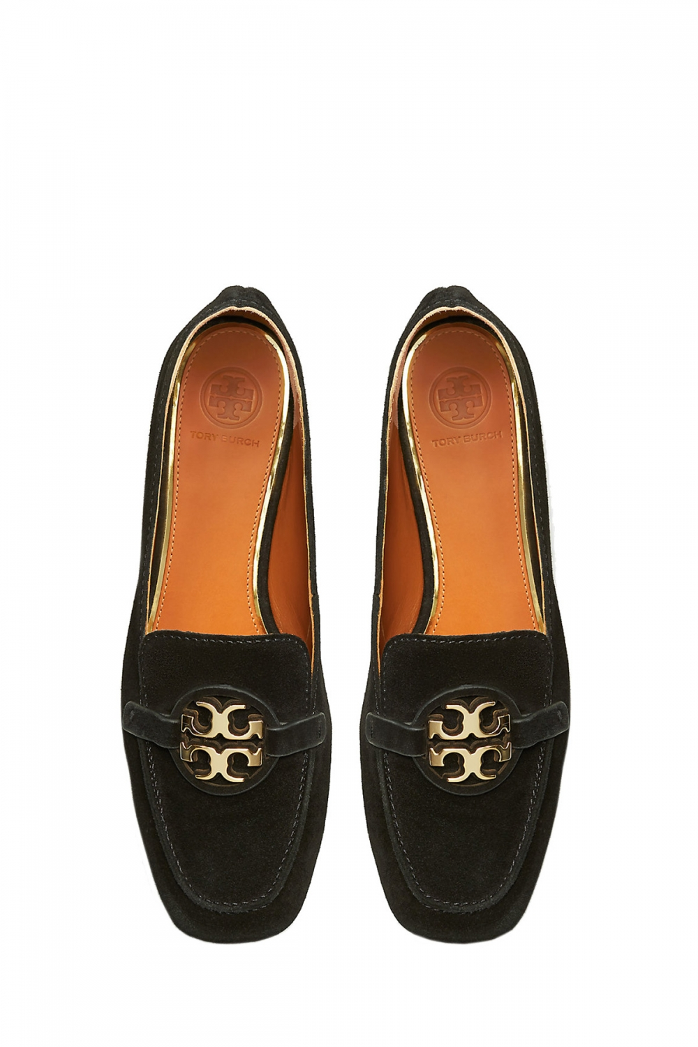 Tory Burch Damen Metal Miller Loafer Schwarz 3