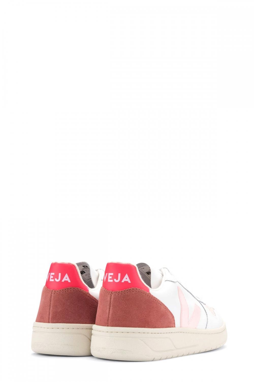 Veja Damen Sneaker Fluo Weiss 3