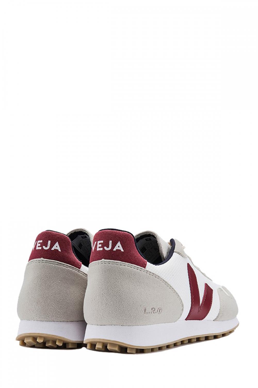 Veja Herren Sneaker B-Mesh White Marsala 3
