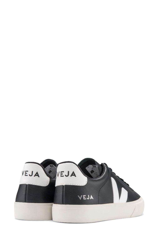 Veja Herren Sneaker Campo Chromefree Black 3