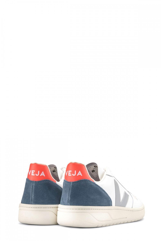 Veja Herren Sneaker Fluo Weiss 3