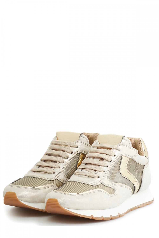 Voile Blanche Damen Sneaker Julia Mesh Silber/Gold 3