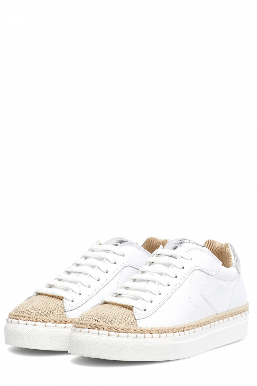 Voile Blanche Damen Sneaker Panarea Weiss 3