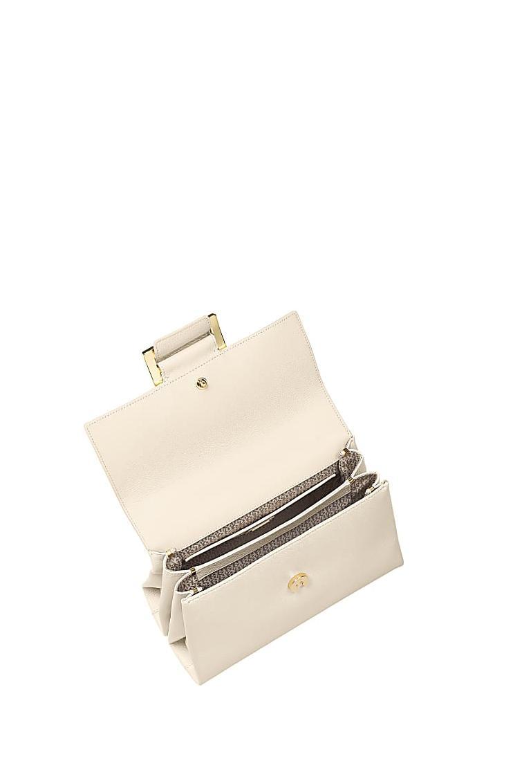 Aigner Damen Handtasche Vicenza M Antique White 4