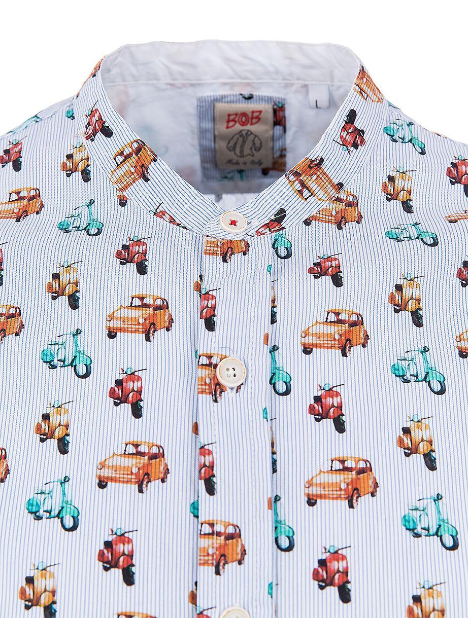"""BOB Herren Hemd """"Korea"""" Variante Unica 4"""