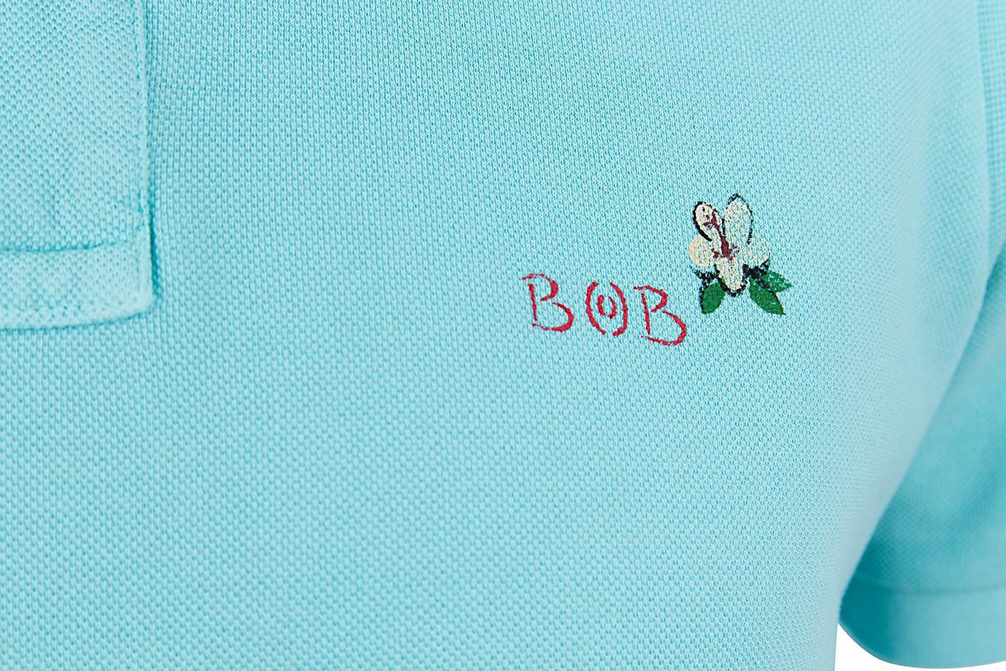 """BOB Herren Poloshirt """"Back"""" Tiffany 4"""