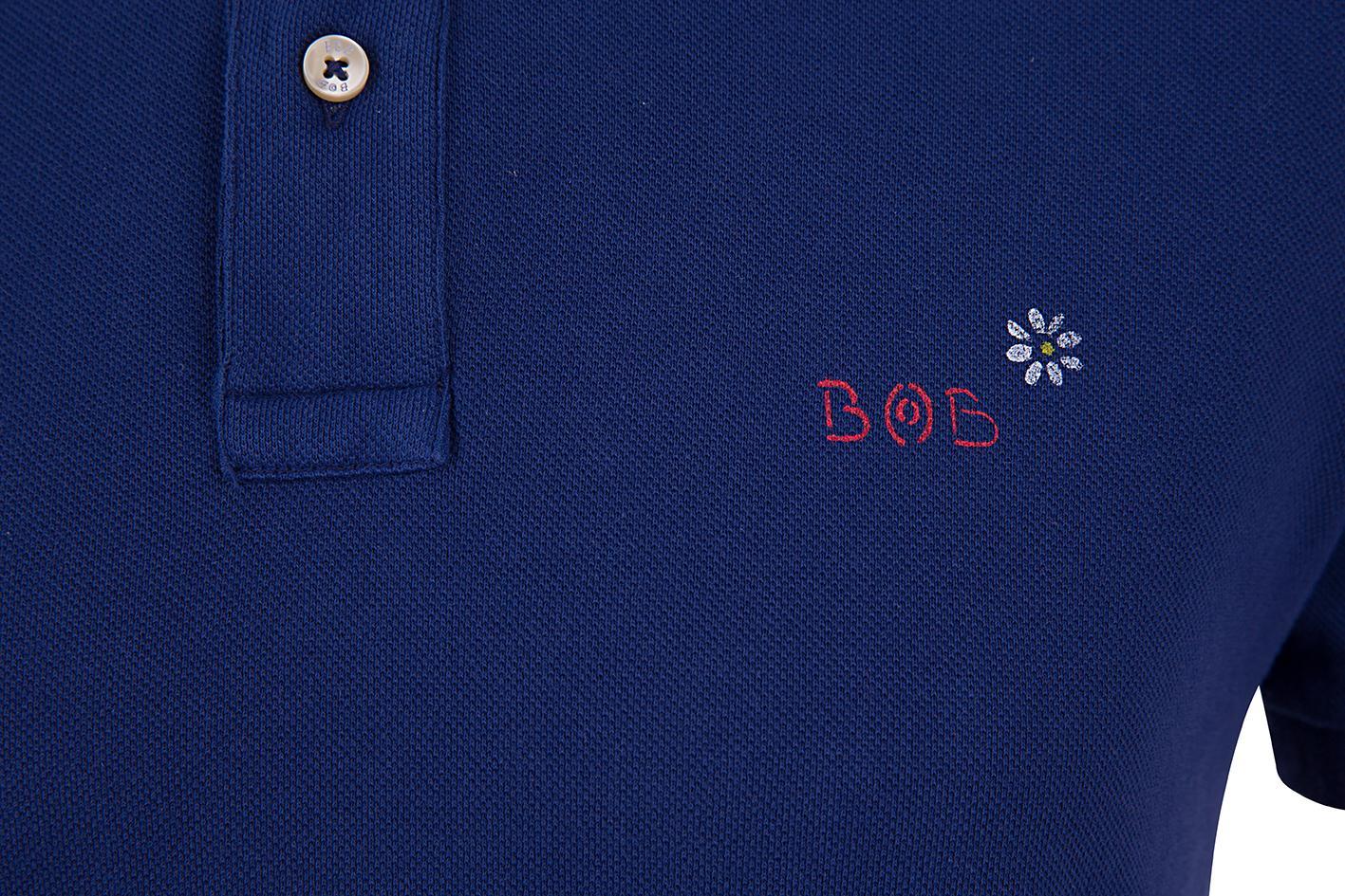 """BOB Herren Poloshirt """"Front"""" China 4"""