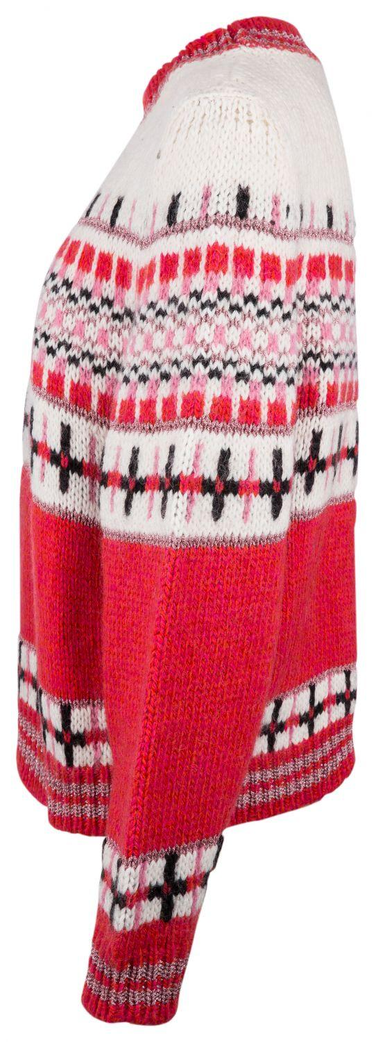 "Essentiel Antwerp Damen Strickpullover ""Rochers"" Rot 4"