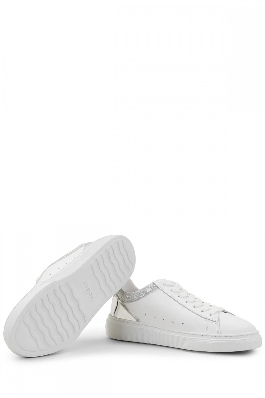 Hogan Damen Ledersneaker H365 Weiss 4