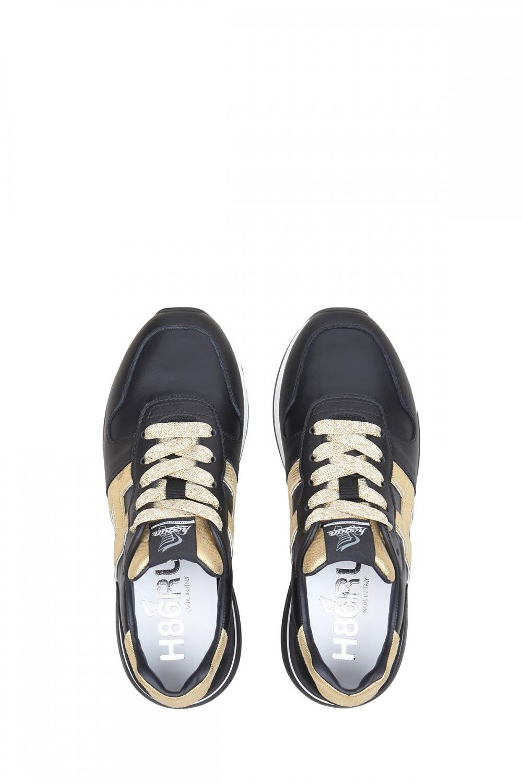 Hogan Damen Sneaker H383 Schwarz 4