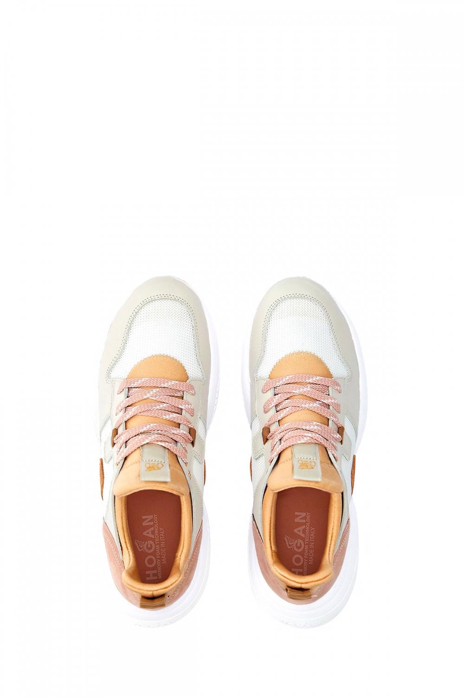 Hogan Damen Sneaker Interaction Slip On Beige 4