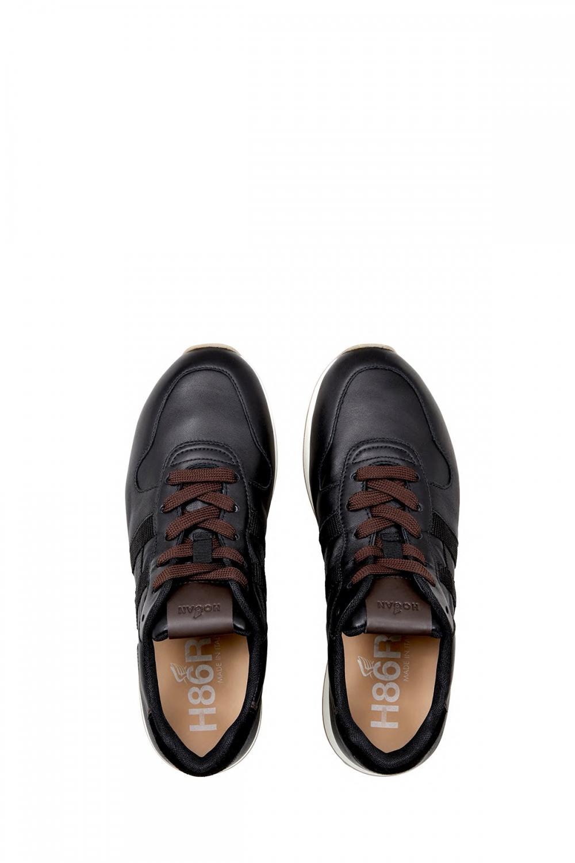 Hogan Herren Sneaker H429 Schwarz 4