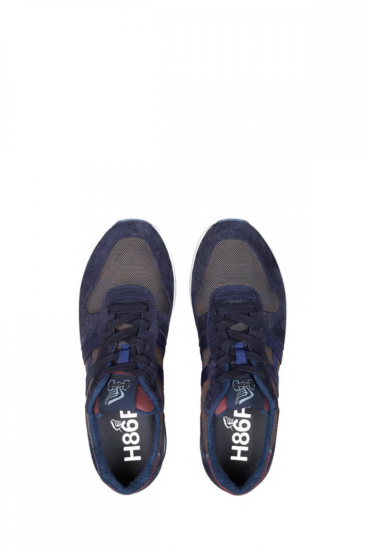 Hogan Herren Sneaker H482 Marineblau 4