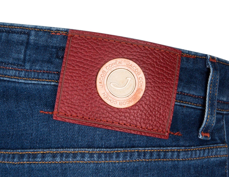 Jacob Cohen handmade Herren Jeans Comfort Denim Blau 4
