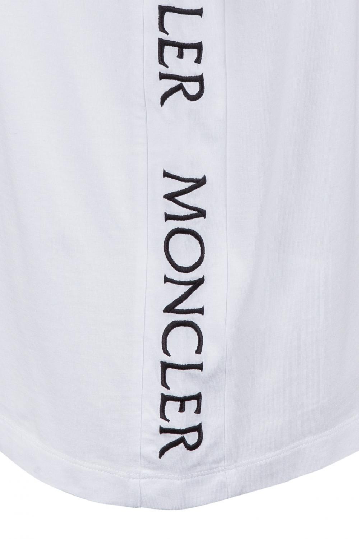 Moncler Herren T-Shirt Weiss 4