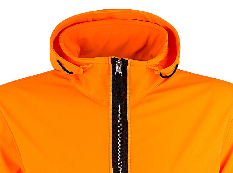 Stone Island Herren Softshelljacke Light Soft Shell-R Orange 4