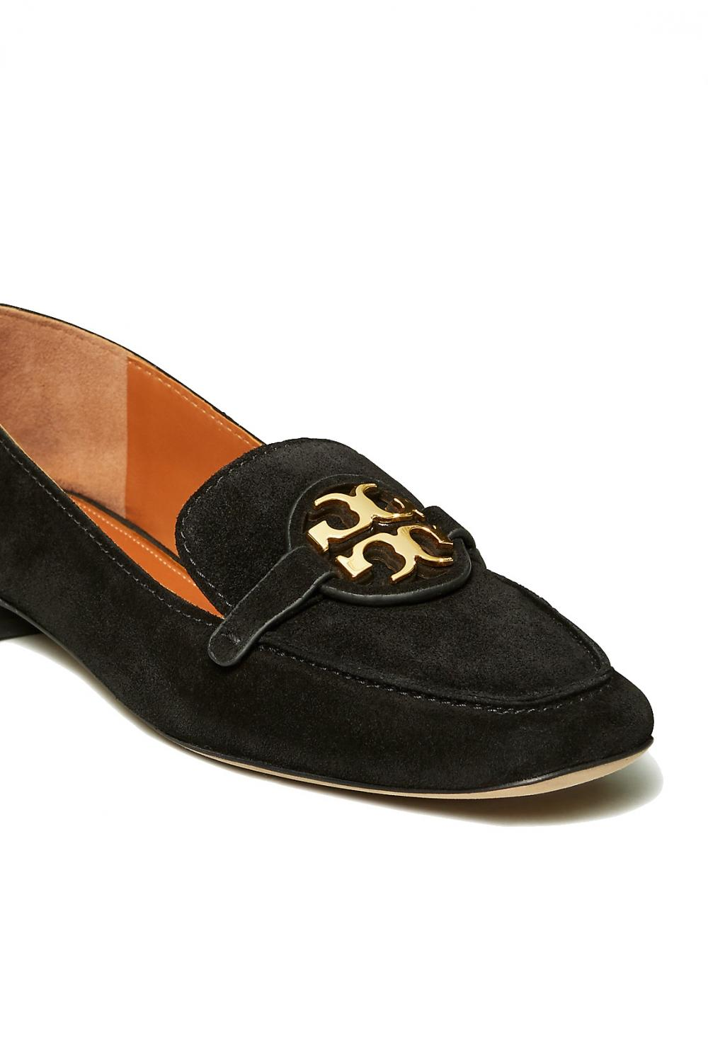 Tory Burch Damen Metal Miller Loafer Schwarz 4