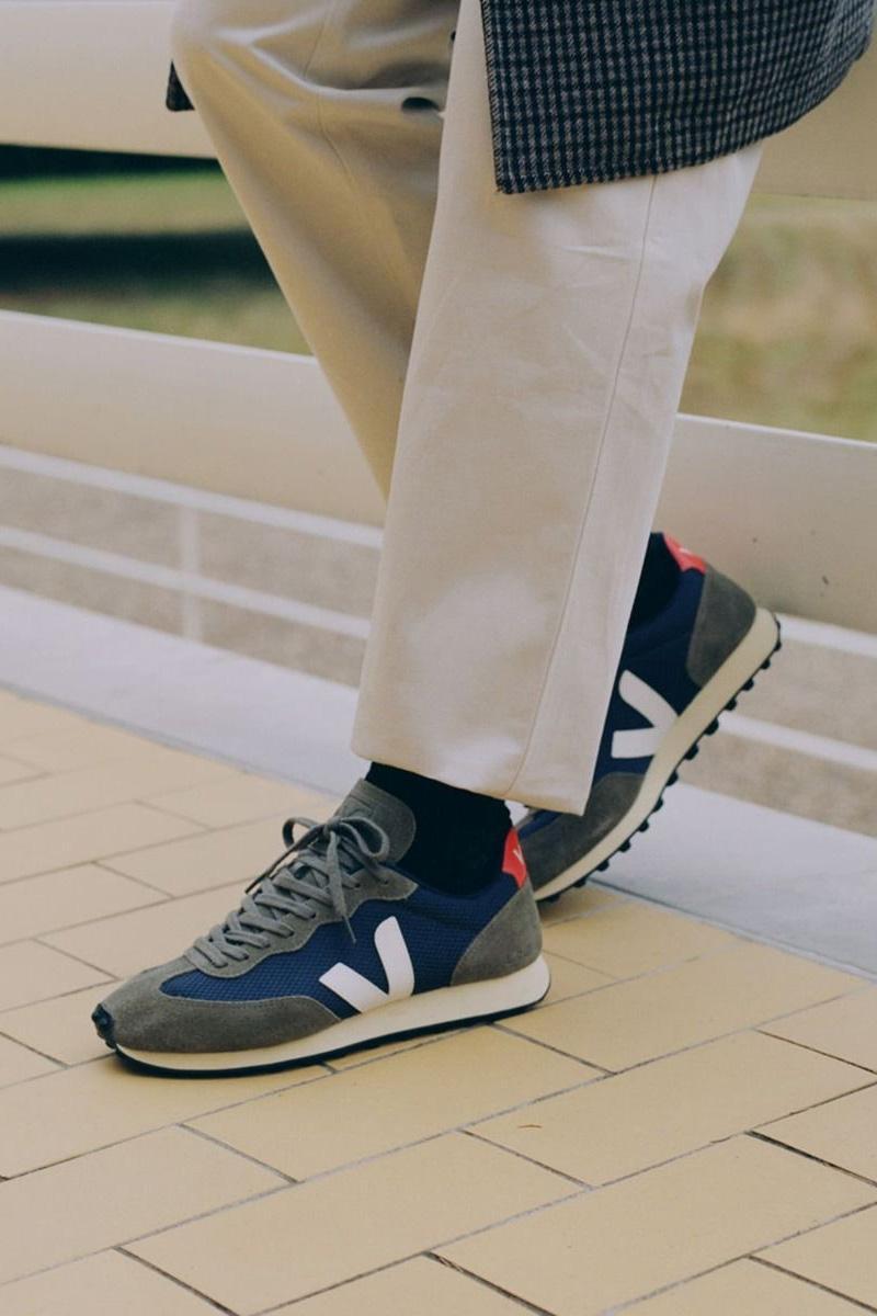 Veja Damen Sneaker Rio Branco Olive 4