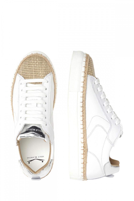 Voile Blanche Damen Sneaker Panarea Weiss 4