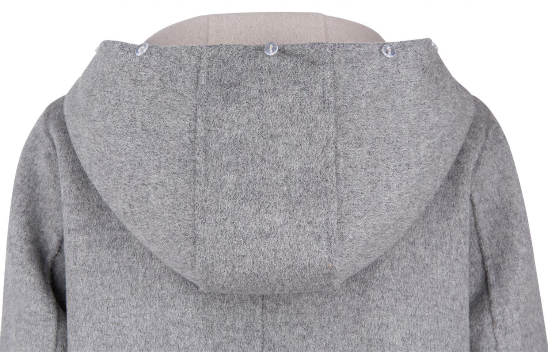 OakWood wendbarer Damen Wollmantel Yale Beige/Grau 5