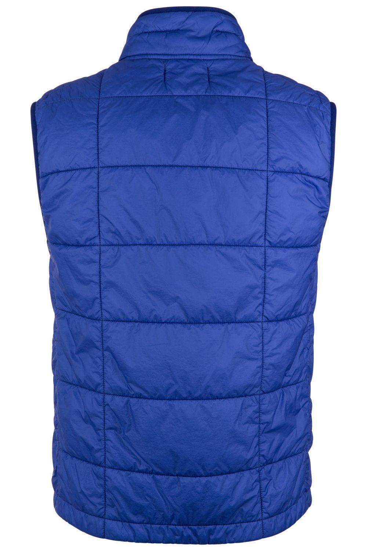 Stone Island Herren Steppweste Garment Dyed Quilted Micro Yarn Blau 5