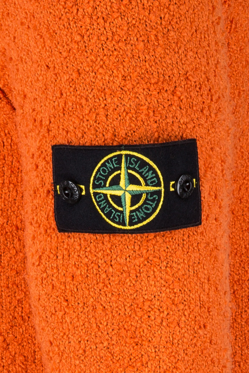 Stone Island Herren Strickpullover Orange 5